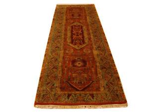 Long Runner Rugs Red 10 ft Jaipur Runner Authentic Handmade 37 x 118 in