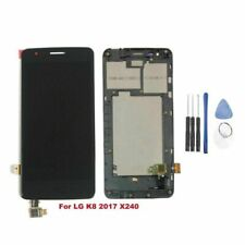 Replace For LG K8 2017 X240 X240I LCD Display Touch Screen Digitizer With Frame