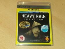 Heavy Rain Move Edition PS3 Playstation 3 (Platinum)