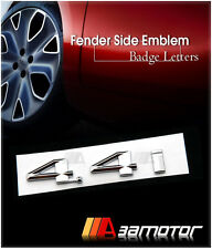 BMW E53 X5 Door Fender Side Chrome Emblem Badge Decal Letter Sticker 4.4i