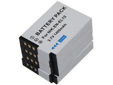 4x Battery fr EN-EL12 Coolpix A900 AW100 AW100s AW110 AW110s AW120 AW120s AW130s