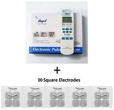 Electronic Pulse Massager + 20 Electrode Pads - Value Pack