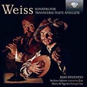 Silvius Leopold Weiss : Sonates pour Flûte et Luth