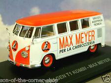 DIECAST 1/43 ITALIAN VAN COLLECTION VW VOLKSWAGEN T1 KOMBI MAX MEYER PAINTS 1959