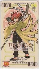 Negima! Magister Negi Magi Pactio Card Negi Springfield
