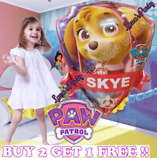 "24"" Paw Print Patrol latex Nickelodeon Balloon SKYE EVEREST GIRL PINK Balloons"