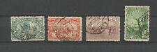 Portugal Royaume 1898 la route des Indes 4 timbres oblitérés /T9069