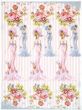 Carta di riso per Decoupage Decopatch Scrapbook Craft sheet Shabby Chic Fashion
