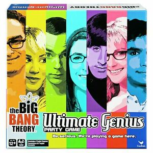 Big Bang Theory Ultimate Genius 4+ Player Party Trivia Game Brand New and Sealed