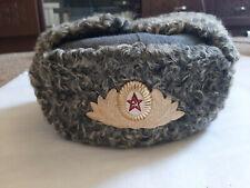 Soviet general Winter Fur Hat USSR