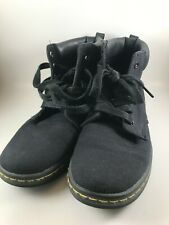 Dr Martens MAELLY Womens Size US 7 EUR 38 UK 5 Black Canvas Boots