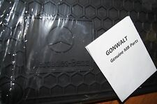 6680346 Genuine Mercedes Benz All Season Black W140 Floor Mats 91 01 S Class