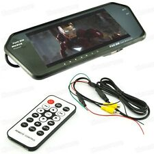 "7"" TFT LCD Screen Car Rear View Mirror Monitor + Mp4 Player + Bluetooth + caméra"