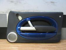 TÜRVERKLEIDUNG vorne rechts + MINI Cooper S R50 R52 R53 + Leder / blau + Harman