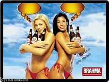 Brahma Beer Sexy Ladies Refrigerator Toolbox Magnet