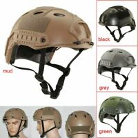 New Tactical Airsoft Paintball Protect Combat FAST Helmet Riding Gaming Climbing