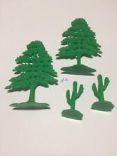 Marx Miniatures Custer's Last Stand Trees