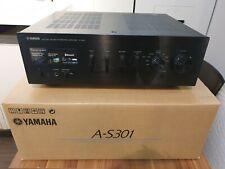 Yamaha AS301 Black Stereo Hi-Fi Amplifier