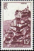 "FRANCE TIMBRE STAMP N°763 ""ROCAMADOUR 15F"" NEUF X TB"