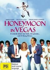 Honeymoon In Vegas (Dvd) Comedy, Romance, Thriller, James Caan, Nicolas Cage