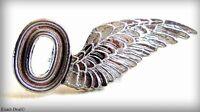 Air Force Observer Sweetheart Pin Metal Wing Beautiful