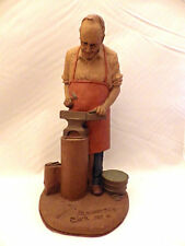 "Tom Clark Gnome ""Blacksmith"" a True Builder steel worker - edition #28"