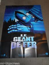 The Iron Giant - Original Huge French Poster - 1999- Vin Diesel/Jennifer Aniston