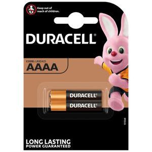 kQ Duracell Batterie Alkaline Mini AAAA LR8D425 1.5V 2er Blister