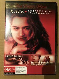 Little Children / Eternal Sunshine Of The Spotless Mind DVD Kate Winslet Reg 4