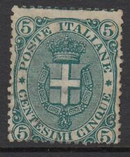 ITALY : 1891 5c green  SG55 unused,little gum