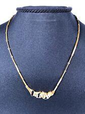 Lapponia Collier Kette Björn Weckström necklace 14K 585 Gelbgold/Wg 42,5cm