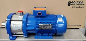 Goulds 10HM04N30T6PBQE 4HP 208-230/460V 3 Phase eHM 4 Stage Booster Pump [A1FL]