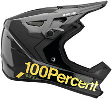 100% STATUS All Mountain/Enduro MTB Bicycle Helmet - Carby/Charcoal