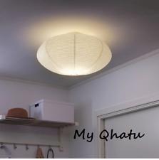 Ikea SOLLEFTEA Ceiling lamp, white Rice Paper NEW