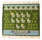 PASTURE Vintage Modernist Hand Crafted Polish Textile Wall Hanging / Rug 1970's