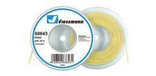 Viessmann 68643 H0-Z Litze/Kabel 25m gelb 0,14 qmm NEU OVP,