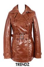 Abrigos y chaquetas de mujer gabardina piel color principal marrón