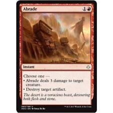 ABRADE NM mtg Hour of Devastation Red - Instant Unc