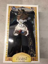 "DISNEY STORE 2016 Beast BEAUTY AND THE BEAST DOLL 17"" LE 3500 Limited"