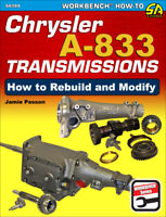 Chrysler A-833 Transmission Rebuild And Modify Manual Book Passon