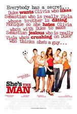 SHE'S THE MAN Movie POSTER 27x40 Jeffrey Ballard Lynda Boyd Alex Breckenridge