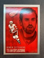 2013-13 Panini Team Score #6 Henrik Zetterberg Detroit Red Wings