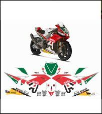 kit adesivi stickers compatibili RSV4 REPLICA SBK 2014 MISANO