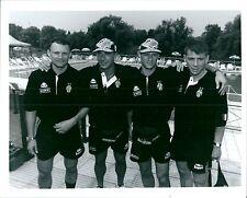 1995 VIERCHOWOOD VIALLI LOMBARDO JUGOVIC foto originale ritiro Juventus