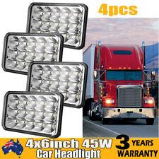 "4psc LED Headlight H4 4X6"" Driving Light Fog High/Low Beam Offroad ATV Lamp Spot"