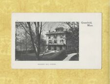 MA GREENFIELD 1901-07 PMC Private Mailing Card PROSPECT HILL SCHOOL Mass