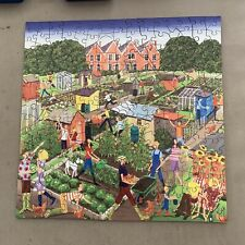WENTWORTH WOODEN JIGSAW PUZZLE 200 pieces. allotments.