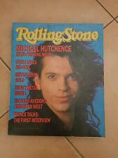 MICHAEL HUTCHENCE 1985 Rolling Stone INXS
