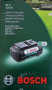 BOSCH Ersatzakku - Li-Ion 36 Volt 4 Ah F016800346 neu