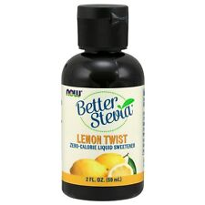 NOW Foods BetterStevia Liquid, Lemon Twist, 2 oz